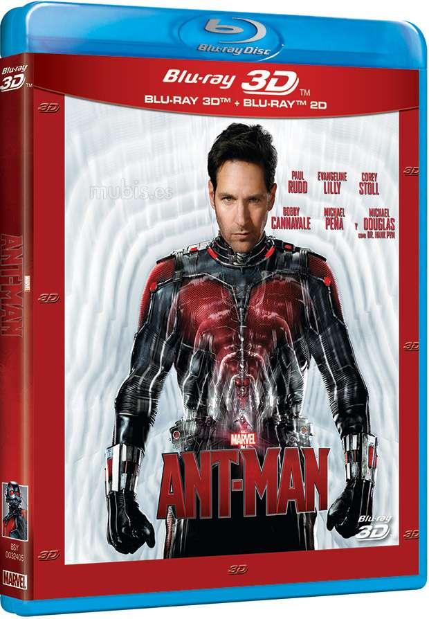 Ant-Man (2015) ISO 3D Blu Ray Full  AVC DTS ITA DTS-HD ENG Sub