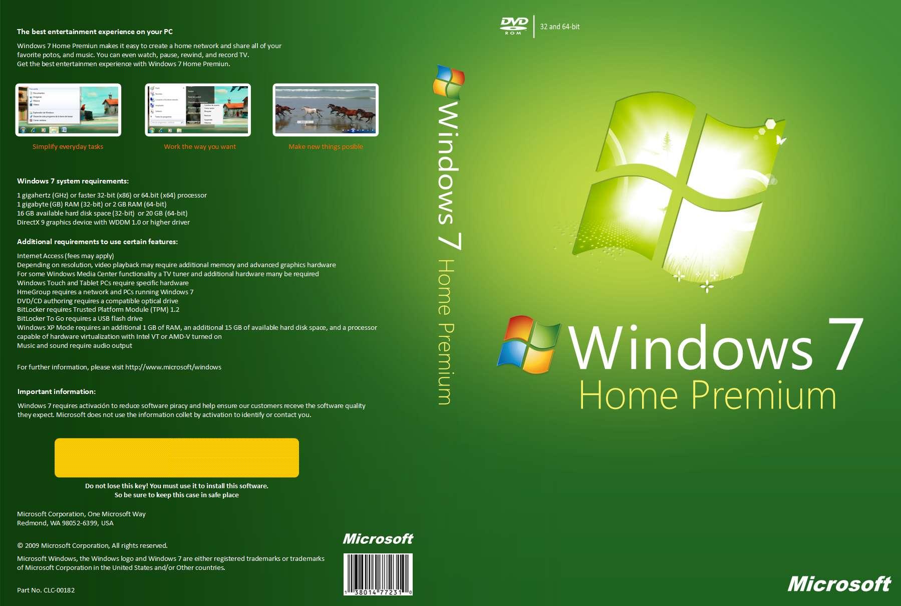 windows 7 home premium 64 bits iso original