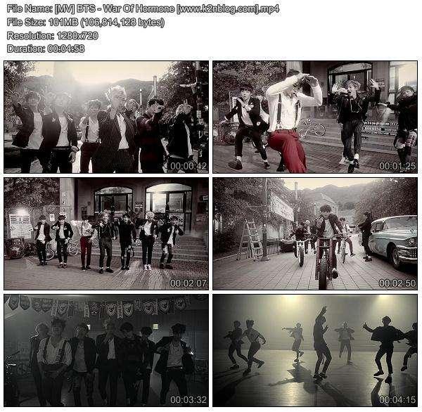 Download [MV] BTS – War Of Hormone [HD 720p Youtube]