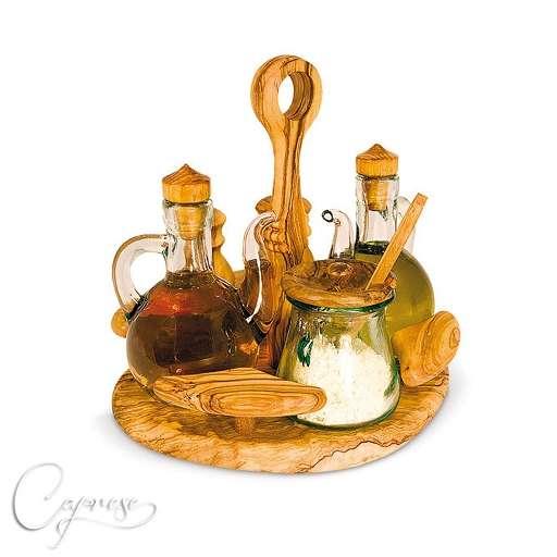l essig flaschen gew rzstre aus olivenholz 19 cm aus italien handgemacht neu ebay. Black Bedroom Furniture Sets. Home Design Ideas