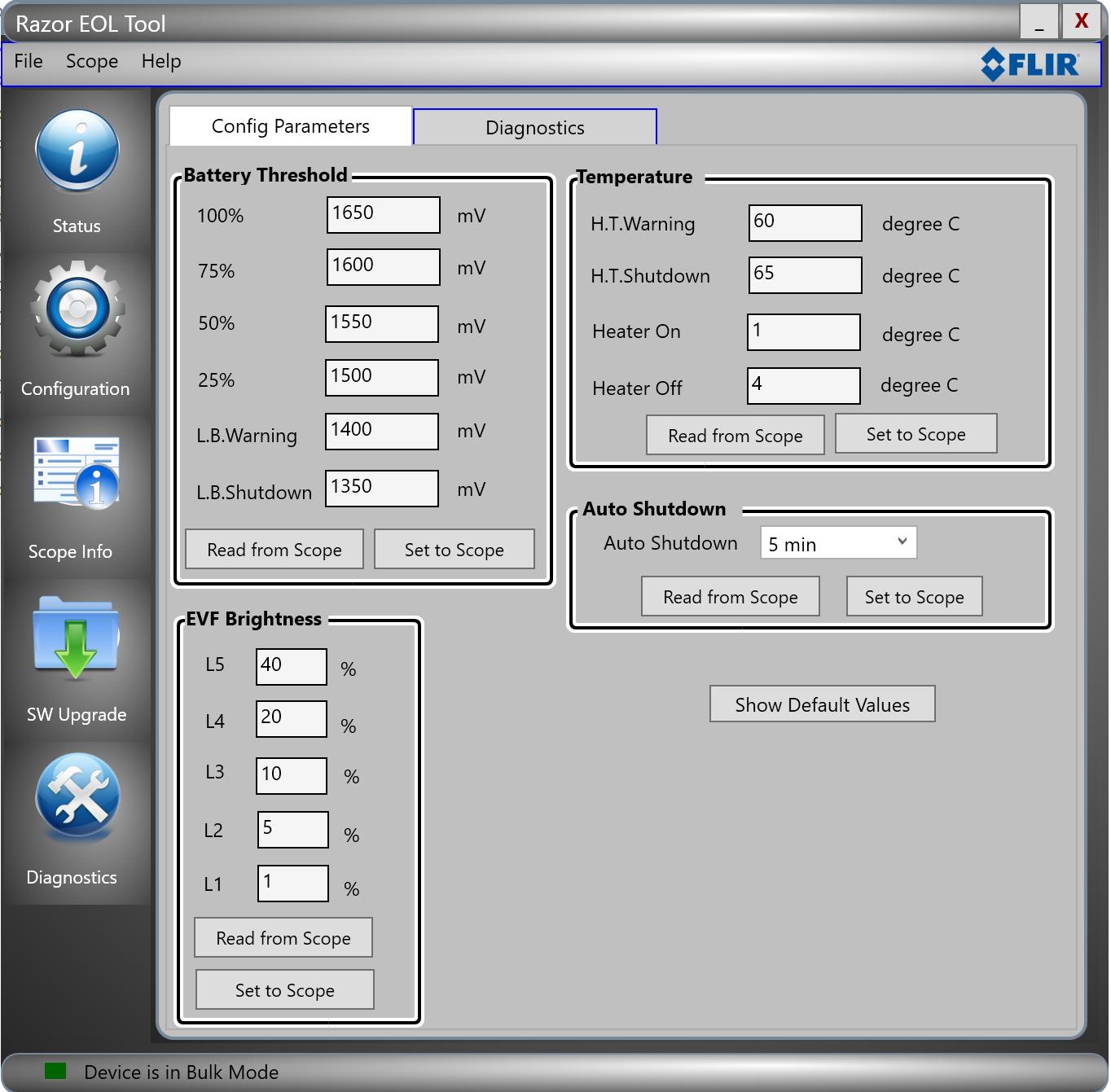 FLIR PS Series modification - Page 1