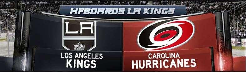 Gdt carolina hurricanes 3 los angeles kings 2 final - Hfboards kings ...