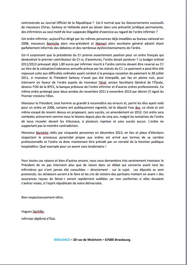 Lettre au président Larcher QKaeev
