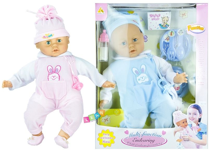Baby Doll With Accessories Laughs Cries Talks Toys