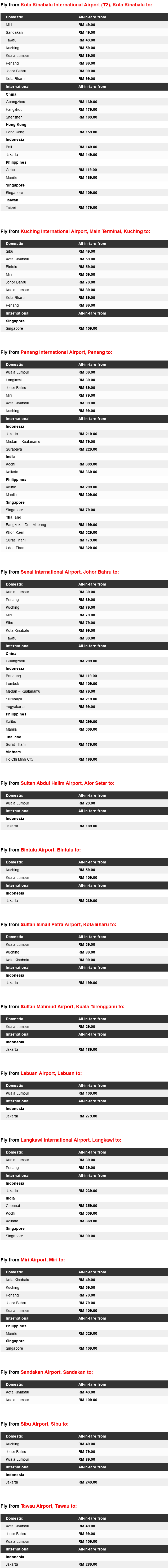 AirAsia Explore Exciting Destinations With Low Fares Promo