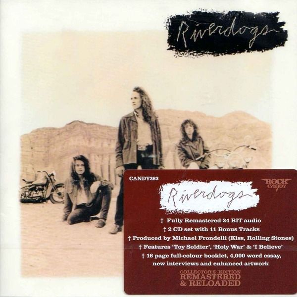 Riverdogs - Riverdogs (2CD) (1990) (Rock Candy Remastered 2015
