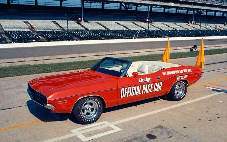1971 Indianapolis 500 Dodge Challenger 383-4V Indy Pace Car Eldon Palmer