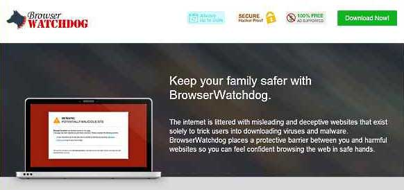 Verwijder Advertenties door BrowserWatchdog