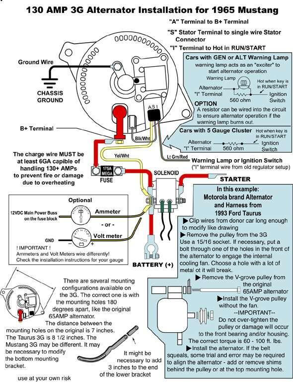 Glamorous Ford 6g Alternator Wiring Diagram Photos - Best Image ...