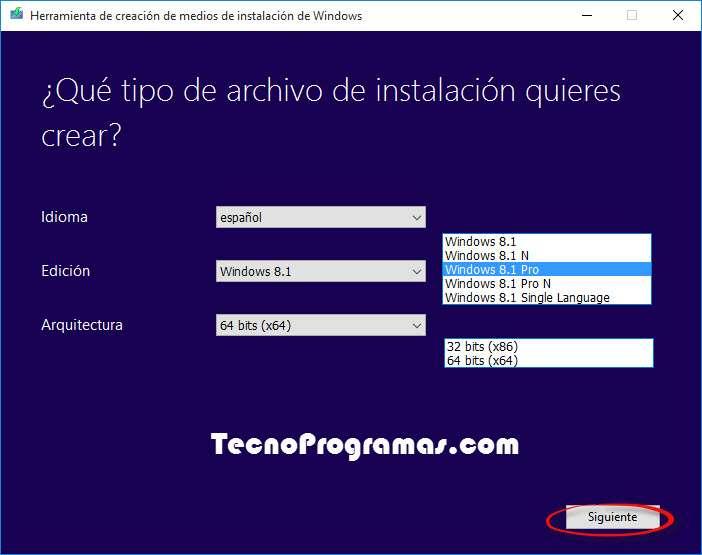 Windows 8.1 todas sus versiones