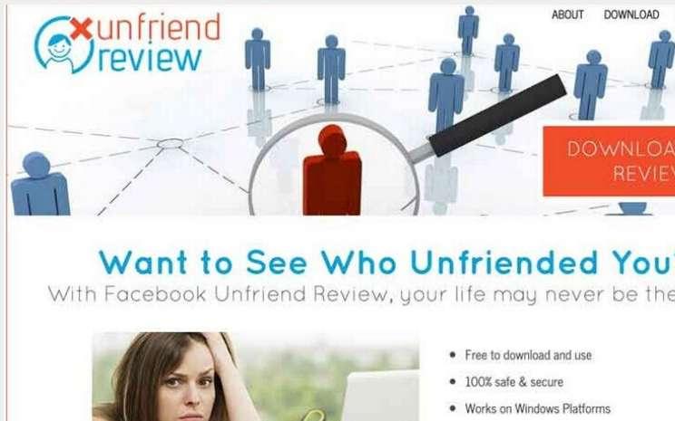 Usuń unfriend recenzję