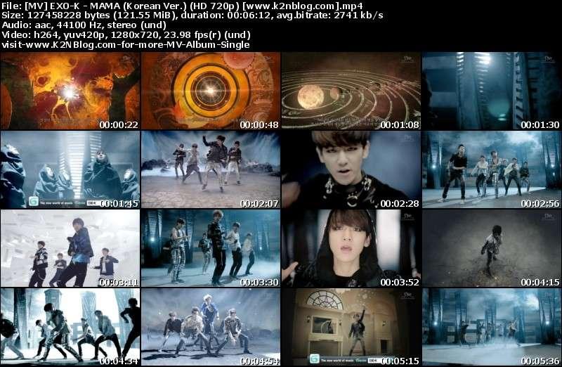 [MV] EXO-K - MAMA (Korean Ver.) [HD 720p Youtube]