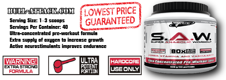 Infos zu TREC Nutrition S.A.W - Bull-Attack by Pumpeffect