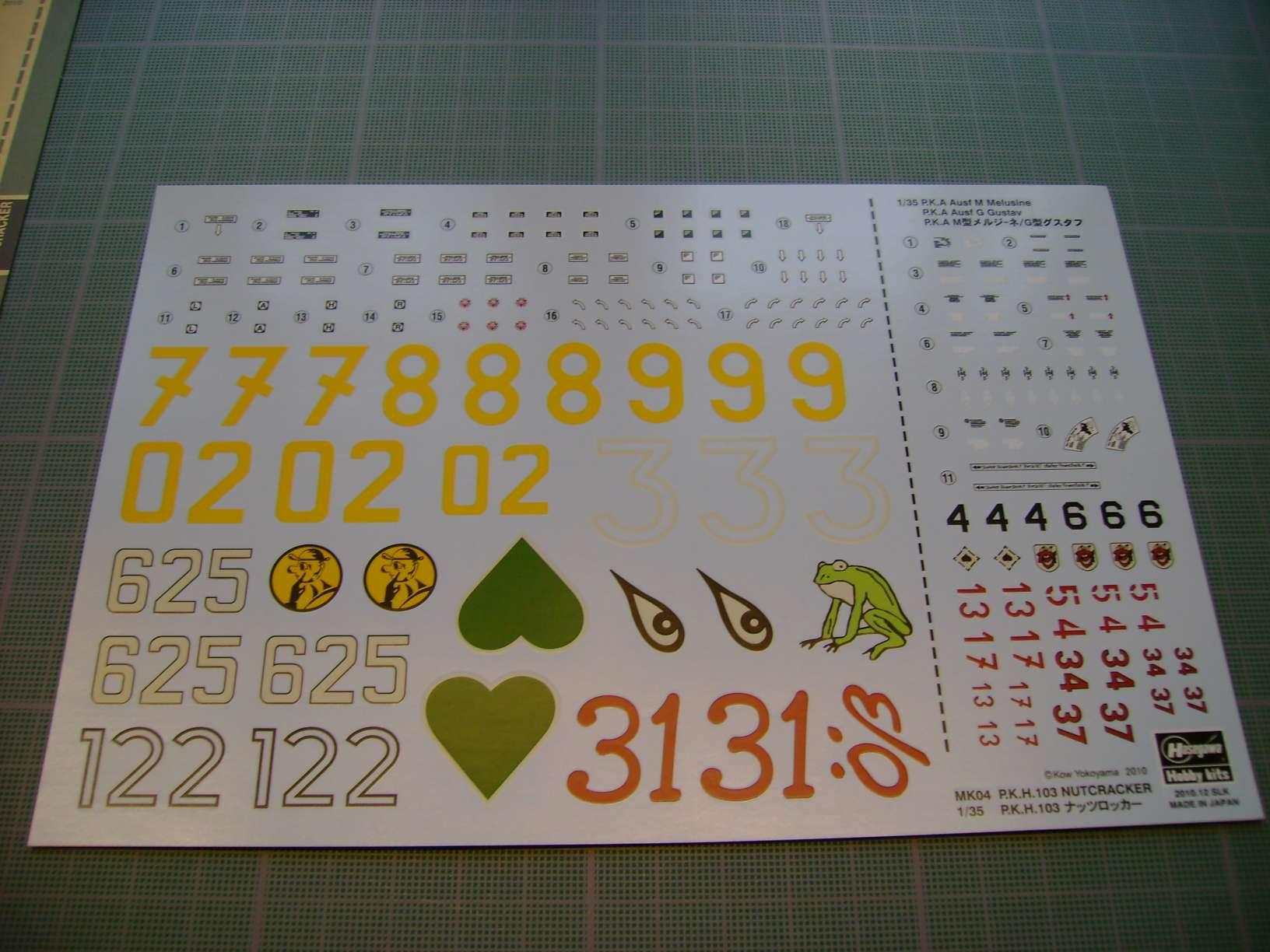 Review kit P.K.H NUTCRACKER   Serie MK04 1/35......By Hasegawa. Dsc03358mk