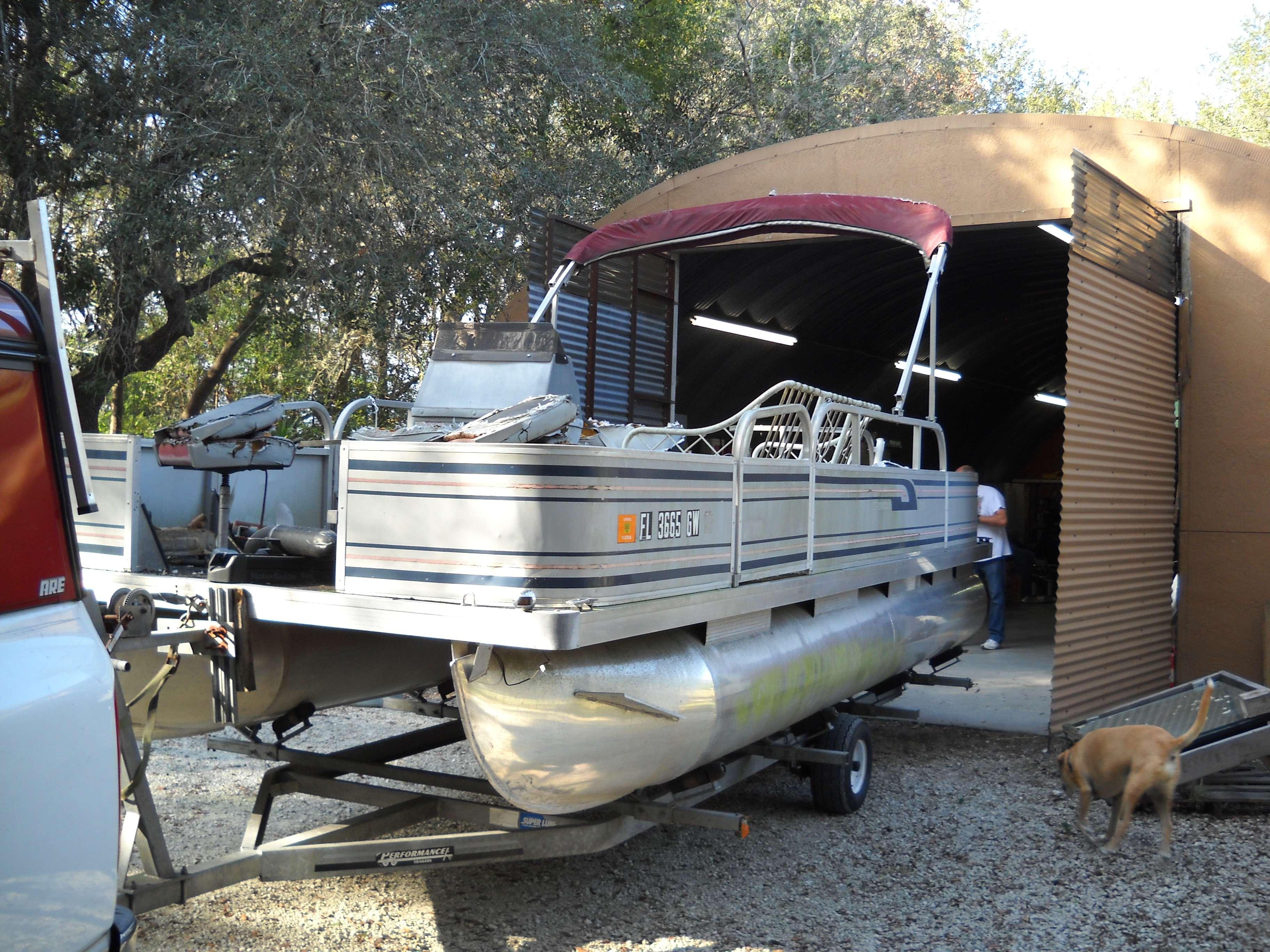 Panels--repaint or replace? - Pontoon Boat & Deck Boat Forum
