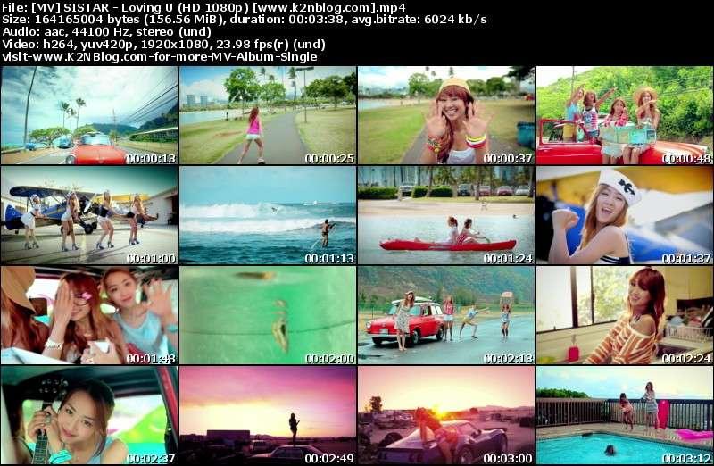 [MV] SISTAR - Loving U (HD 1080p Youtube)