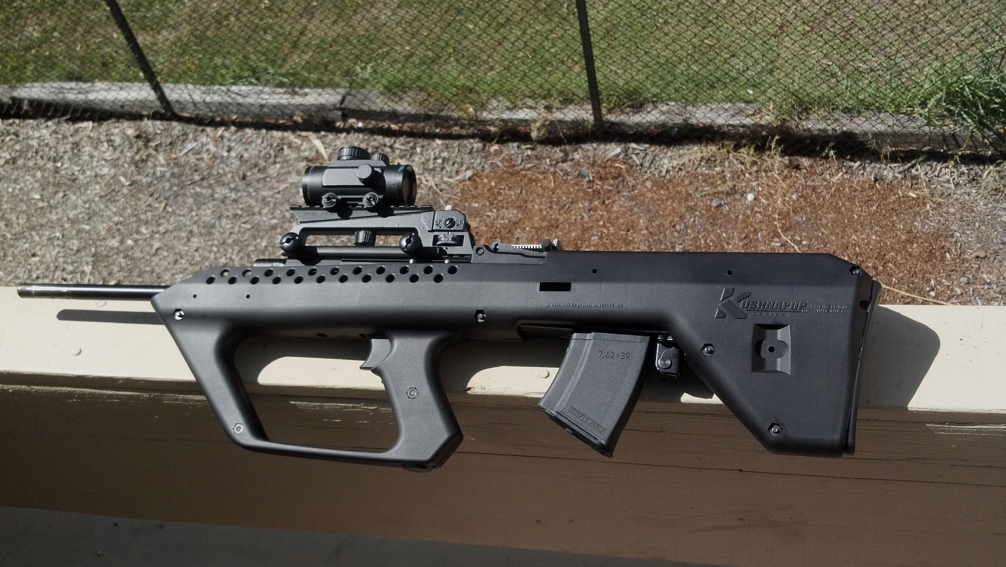 762x39 customized kushnapup bull pup stock kit - Calguns net