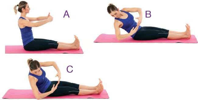 Pilates - Yana Rotasyon