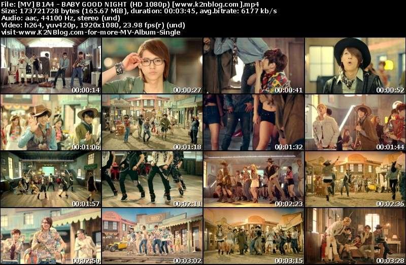 [MV] B1A4 - BABY GOOD NIGHT (HD 1080p Youtube)