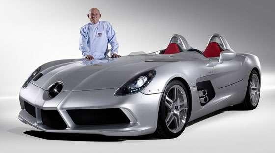 Stirling Moss' Mercedes-Benz SLR McLaren
