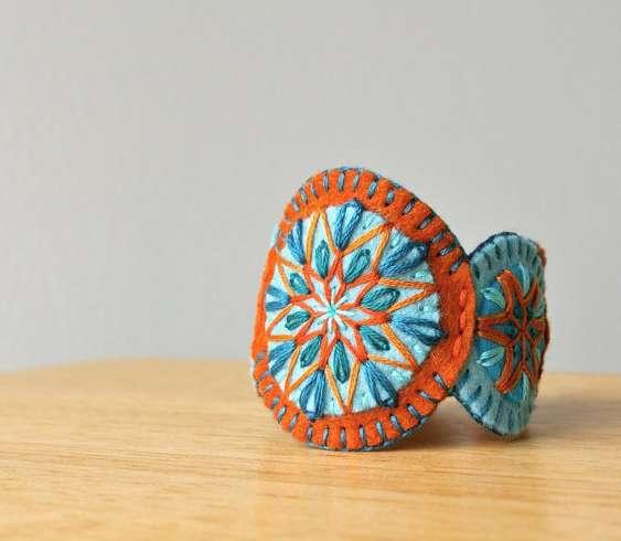 Wool felt bracelets on Cool Mom Picks