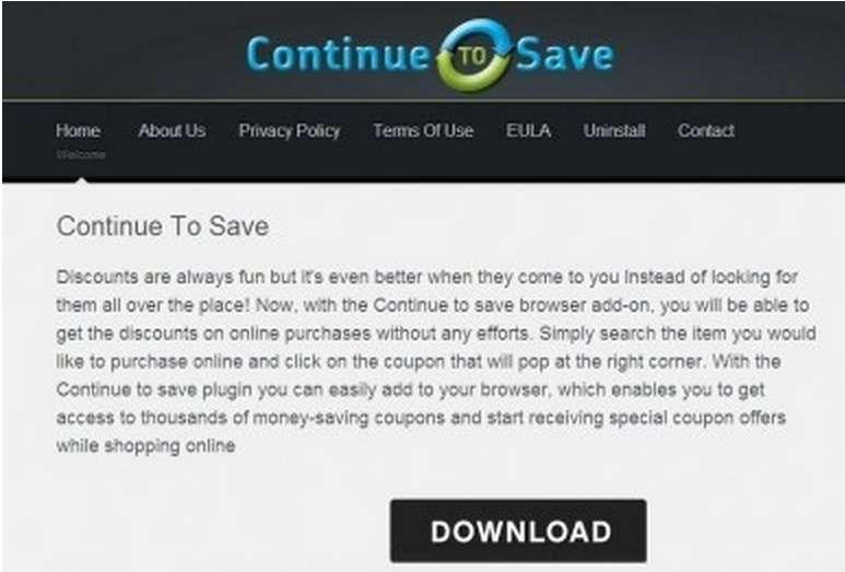 ContinuetoSave pop-up ads