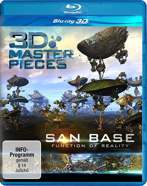 3D Masterpieces: San Base – Function of Reality (2013) Blu-ray [2D/3D] 1080p AVC DTS-HD 5.1