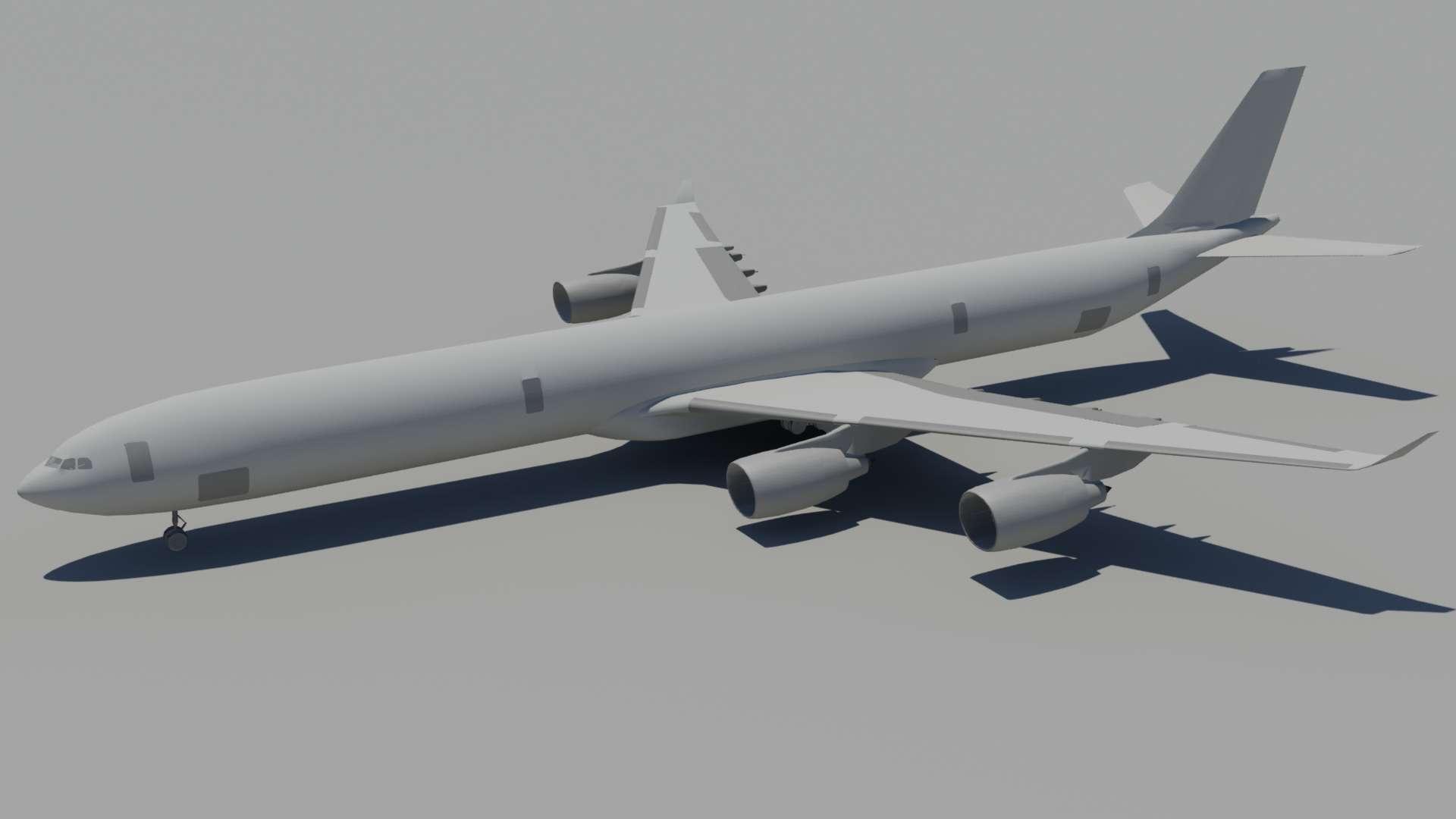 P3D v2 - Airbus A340-600 | FSDeveloper