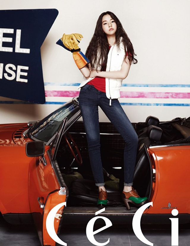 Sohee Is A Sexy Cutie For Tommy Hilfiger Denim Pictorial