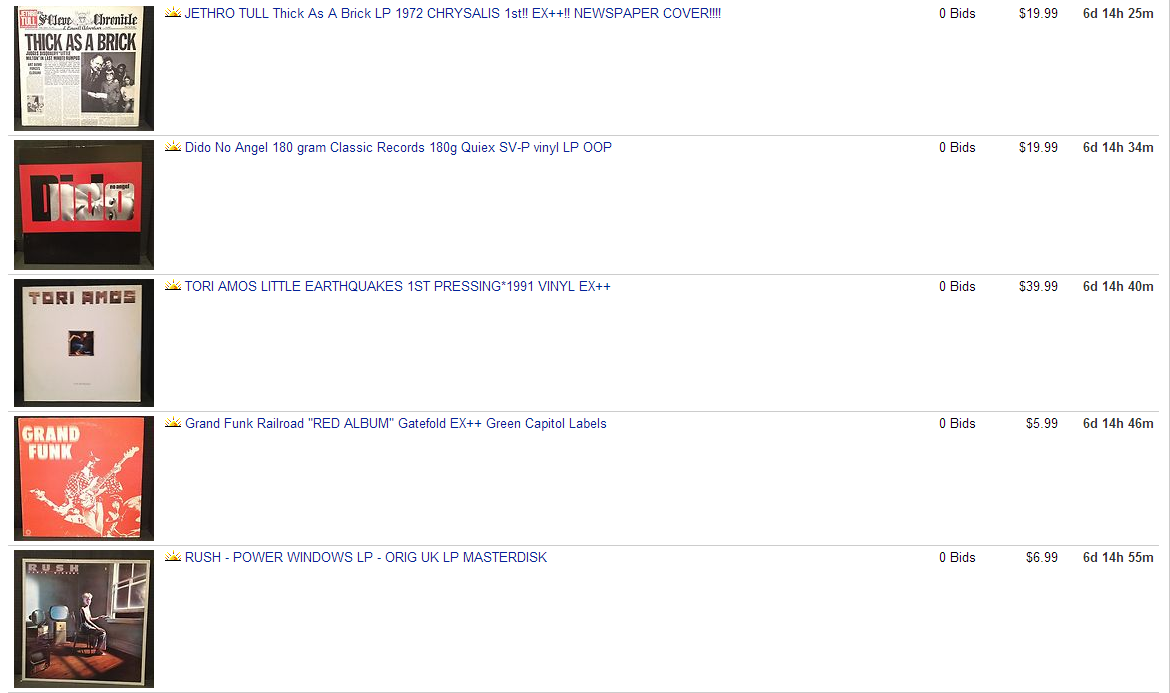 **Ebay Store Additions 12/28/2013** All New   Steve Hoffman Music