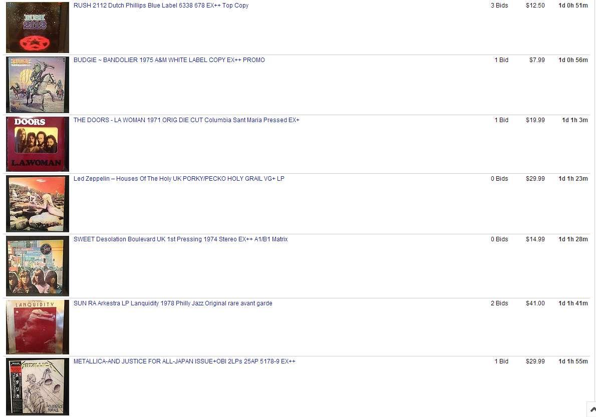 Ebay Store Ending Tomorrow 1/5/2014**   Steve Hoffman Music Forums