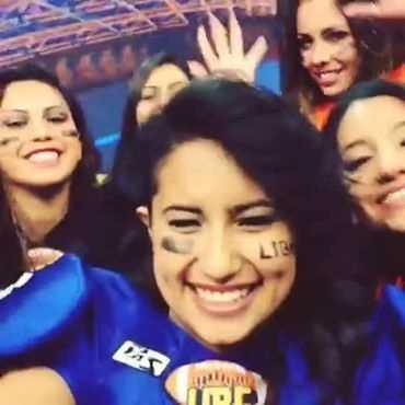 Chicas de la Liga Iberoamericana de bikini football