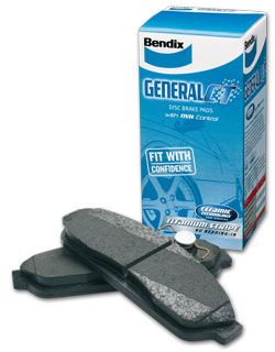 FPV GT-P BA BF FG Brembo 6 pot 2004 on Front Disc Brake Pads BENDIX DB1845-GCT