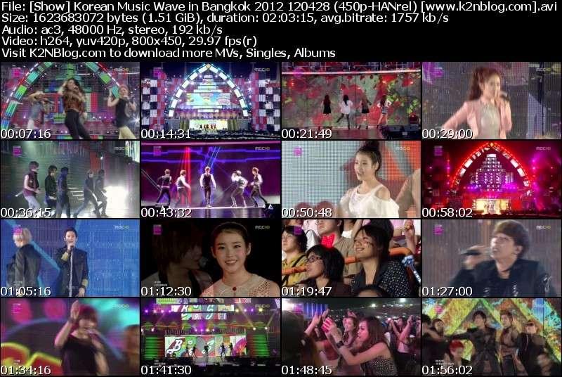 [Show] Korean Music Wave in Bangkok 2012 120428