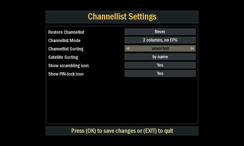 Unsorted Channel List ? (No Fav) - [EN] The Lounge - Forums
