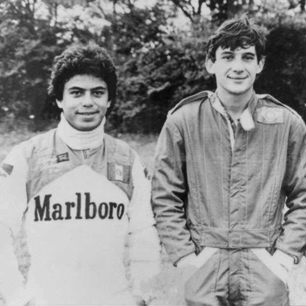 Alfonso Toledano Ayrton Senna
