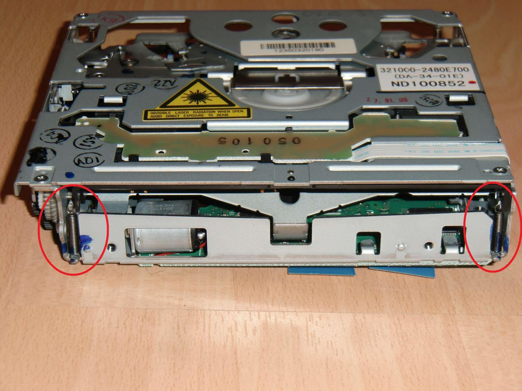 Navi Einfach Zu Verwenden Ncdr 1500 Hart Arbeitend Lasereinheit Für Einen Opel