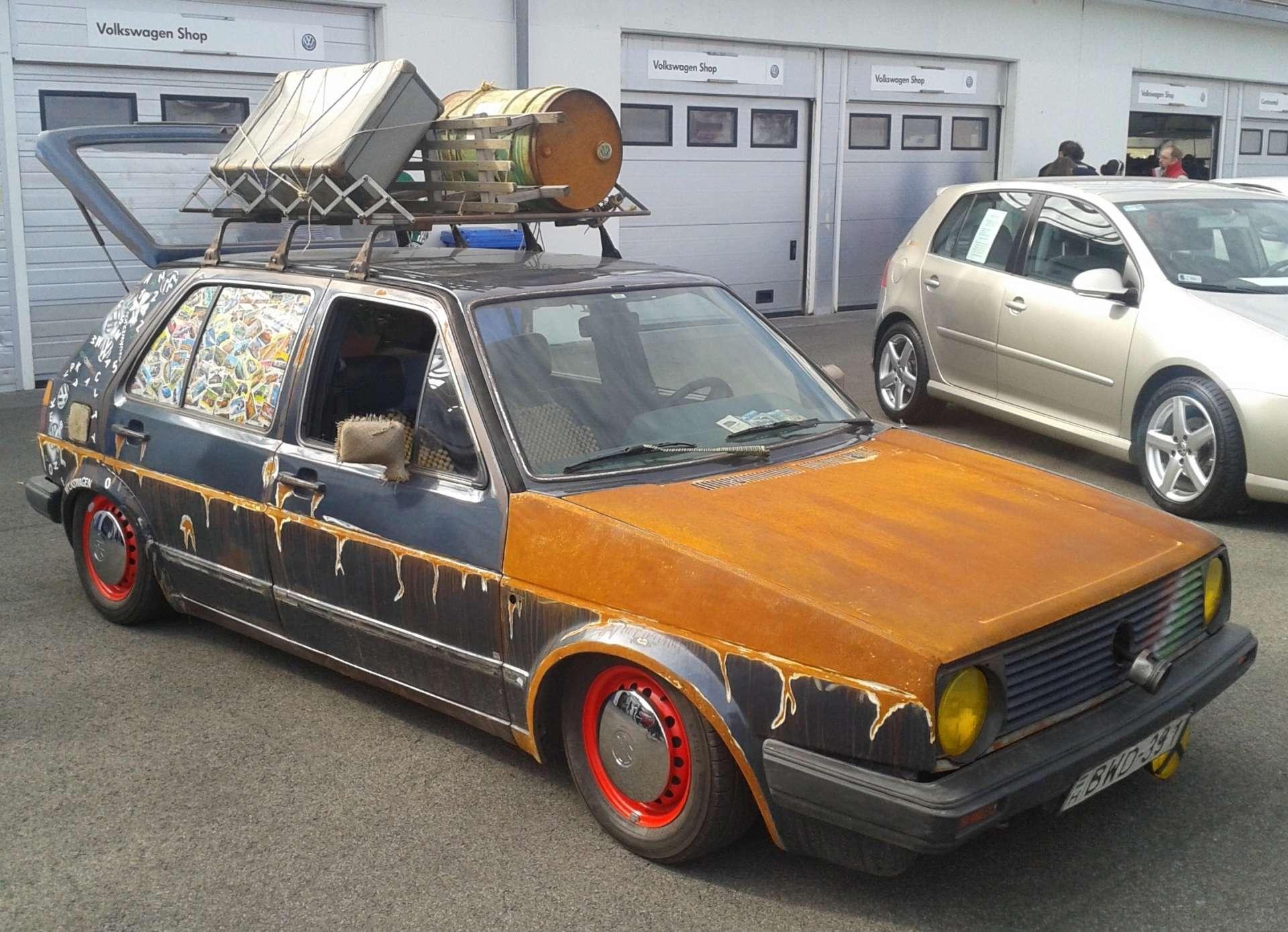 Volkswagen Golf 2 Rat Look - Különleges autók 60730cbad8