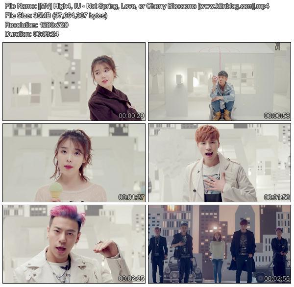 [MV] High4 & IU - Not Spring, Love, or Cherry Blossoms [HD 720p Youtube]