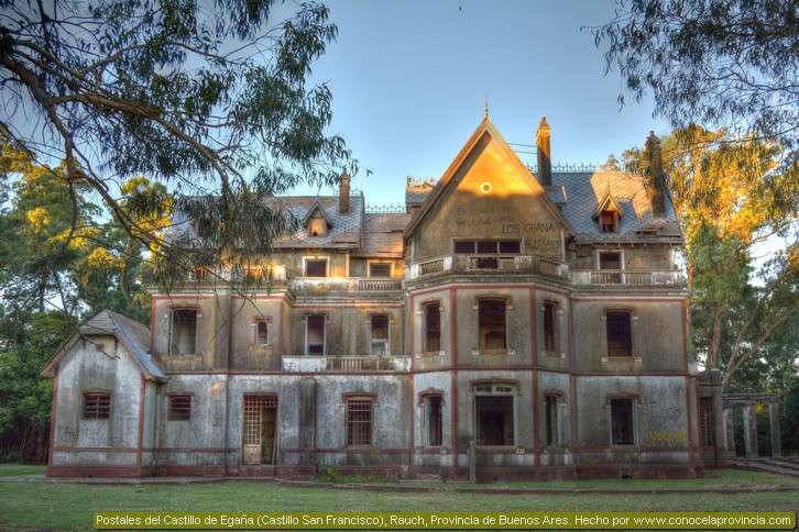 castillo abandonado de egaña