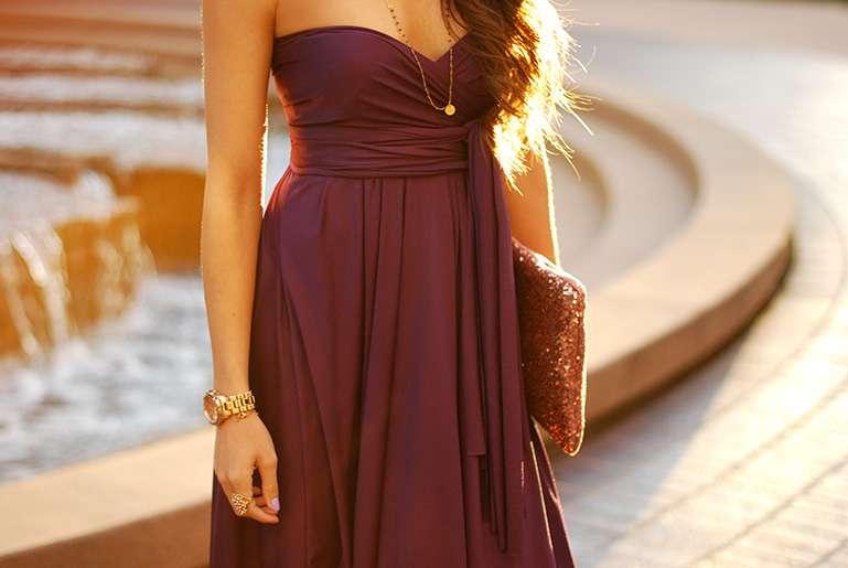 12 way convertible dress