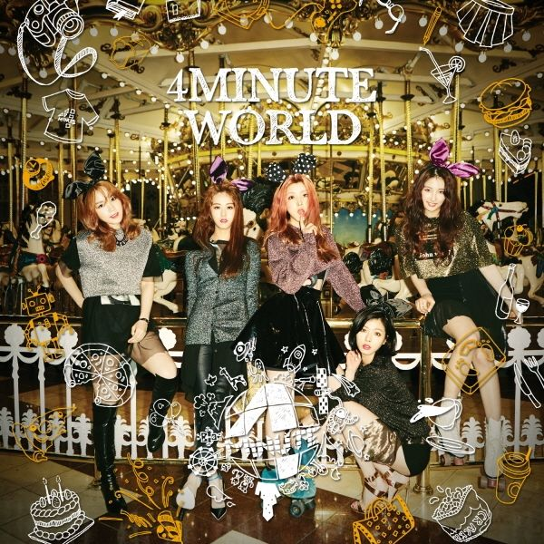 [Mini Album] 4MINUTE - 4minute World [5th Mini Album]