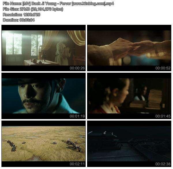 [MV] Baek Ji Young - Fervor [HD 720p Youtube]