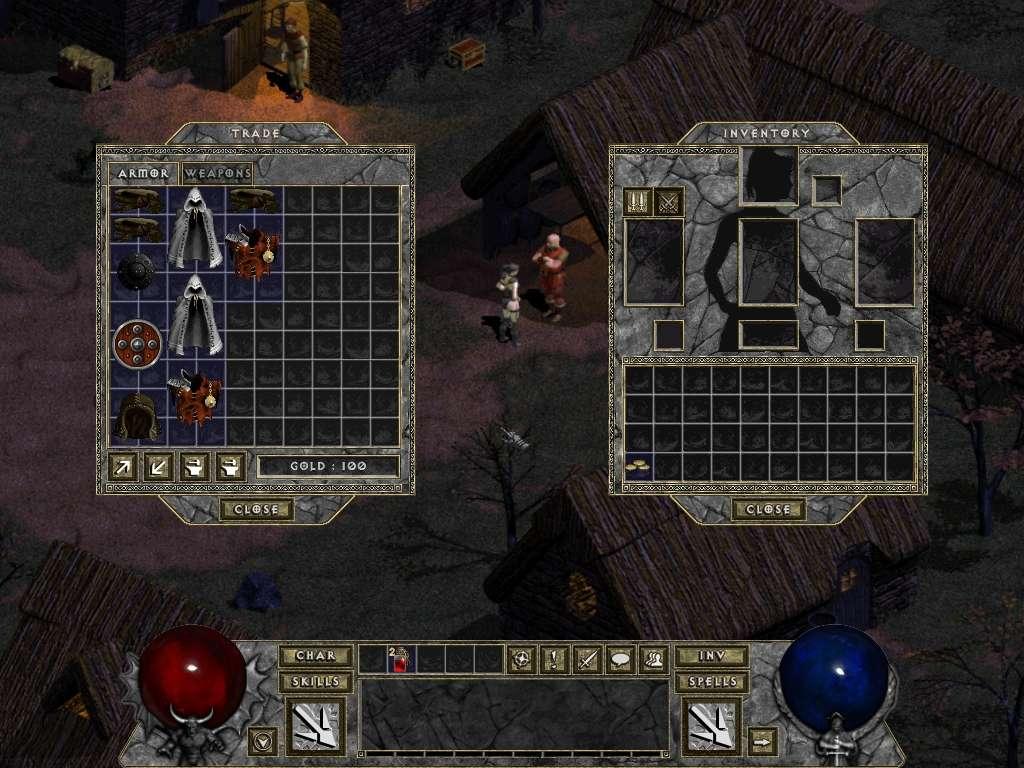 Diablo I HD MOD (Belzebub) – przegląd nowości #1 | Hack