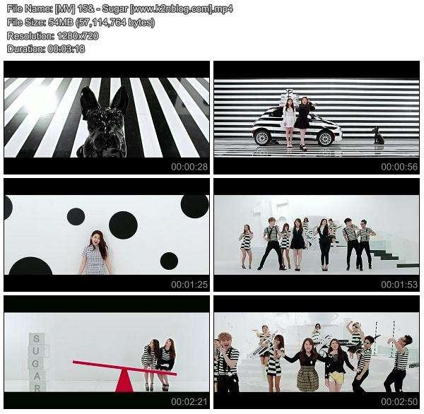 [MV] 15& - Sugar [HD 720p Youtube]