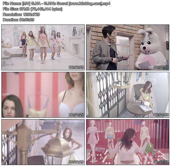 [MV] G.NA - G.NA's Secret [HD 720p Youtube]