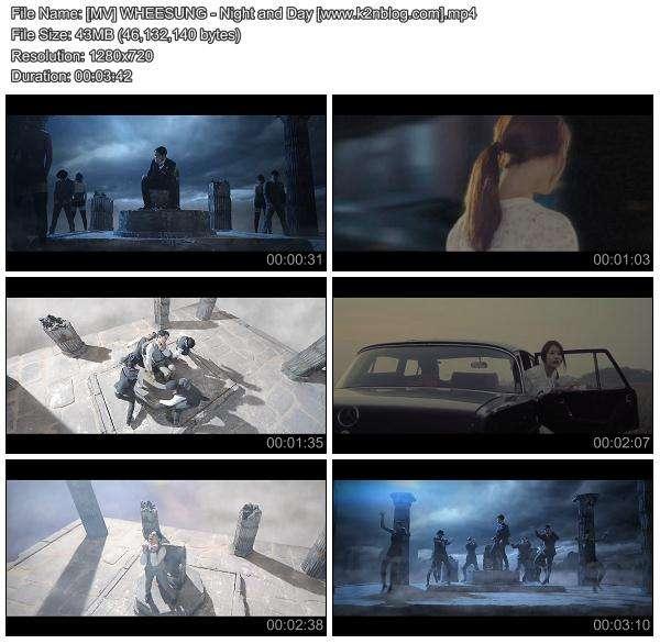 [MV] WHEESUNG - Night and Day [HD 720p Youtube]