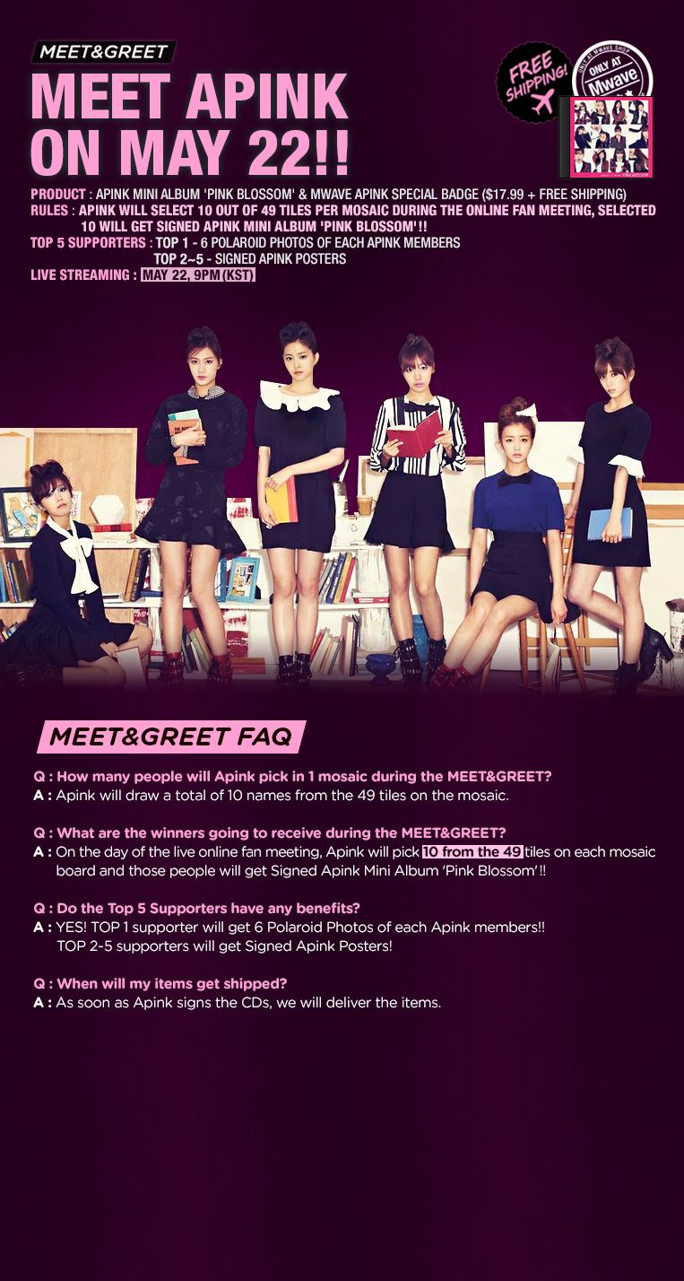Apink Mwave Meet And Greet May 22 2014 Replay Watch Now Music