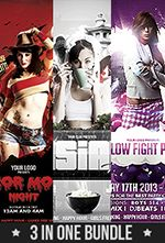 The Bebop Anime and Comic Convention PSD Template - 77