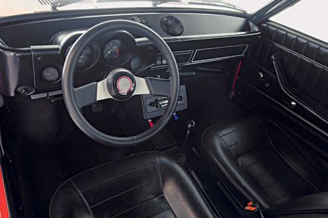 Sl on Fiat 128 Sl